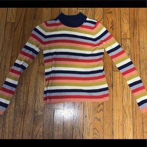 Madewell XX Small Striped sweatshirt